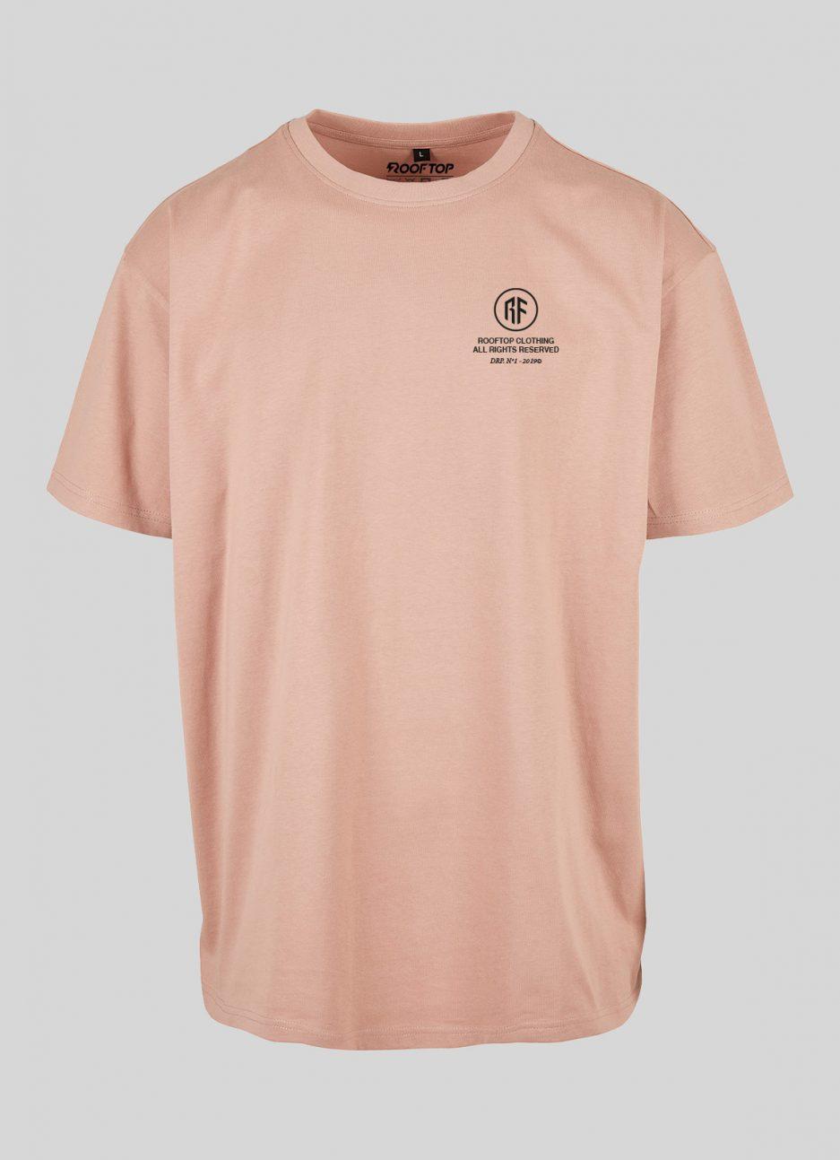 Oversize Amber T-Shirt Wordlwide